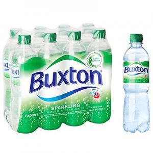 Buxton con gas 8x50cl