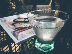 agua con sabor a salud