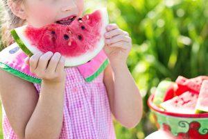 calor y frutas