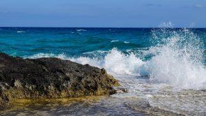 agua con sabor a mar
