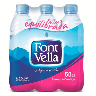 Font Vella 6x50cl