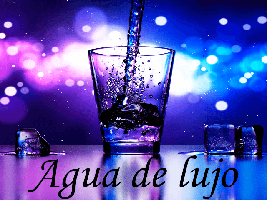 Agua de lujo
